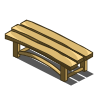 Bleached Bench-icon
