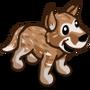 Brown Heeler Puppy-icon