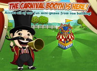 Carnival Booth Loading Screen