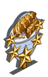 Floral Scones 5 Star Mastery Sign-icon