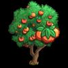 Gold Peach Tree-icon