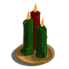Green Candles Set-icon