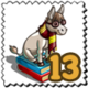 Harry Donkey Stamp-icon