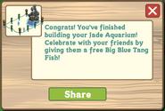 Jade Aquarium Finished Share Reward