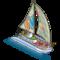 Luxury Sailboat-icon