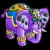Blue crown Elephant-icon