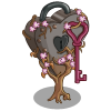Rusted Chrome Heart Tree-icon