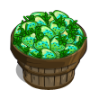Green Strawberries Bushel-icon