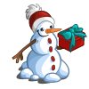 Jolly Snowman-icon