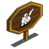 Long Eared Rabbit Mastery Sign-icon