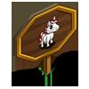 Mini Candycane Foal Mastery Sign-icon