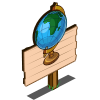 Mini Earth Mastery Sign-icon