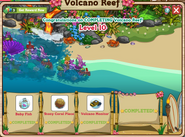 Volcano Reef Inside Completed