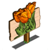 Orange Tulip Mastery Sign-icon