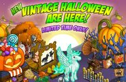 Vintage Halloween Event Loading Screen