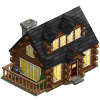 Winter Farm House-icon