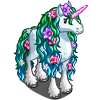 Frizzy Mane Unicorn-icon