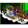 Santa Sleigh-icon