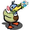 Spring Duck-icon