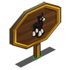 Black Shire Foal Mastery Sign-icon