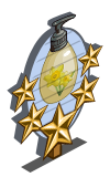 Daffodil Lotion 5 Star Mastery Sign-icon