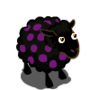 Dark Brown Bluish Violet-Dotted Ewe-icon