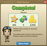 Drop Anchor complete