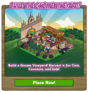 Gnome Vineyard Notice