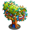 Cylinder Tree House-icon