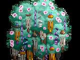 Giant Metal Wind Chime Tree