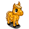 Golden Mini Stallion Foal-icon
