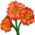 Orange Daisy-icon