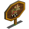 Cupid Reindeer Mastery Sign-icon