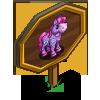Heart Pattern Mini Horse Mastery Sign-icon