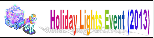 Holiday Lights Event (2013) Event Banner