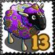 Poompohar Violet Sheep Stamp-icon