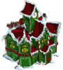 Winter santa's workshop-icon