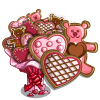 Big Valentine Cookie Tree-icon
