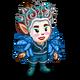 Blue Beauty Gnome-icon