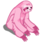 Pink Sloth-icon