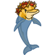 Autumn Leaping Dolphin-icon