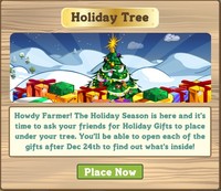 Holiday Tree 2011 Notificaton