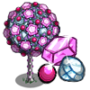 Pink Gem Tree-icon