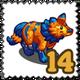 FarmVille Dire Wolf Stamp-icon