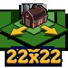 Farm 22x22