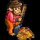 Farmer Monkey-icon