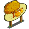 Golden Apple Tree Mastery Sign-icon