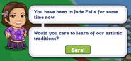 Jade Falls Chapter 15 Quest Notification