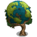 Earth Pattern Tree-icon