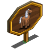 Half n Half Horse Mastery Sign-icon